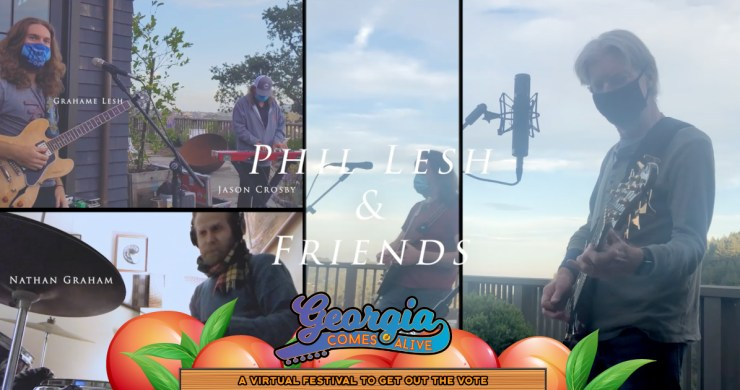 Phil Lesh, Phil Lesh and Friends, Phil Lesh & Friends, Phil Lesh Georgia Comes Alive, Phil Lesh age, Phil Lesh 2020, Uncle John's Band live
