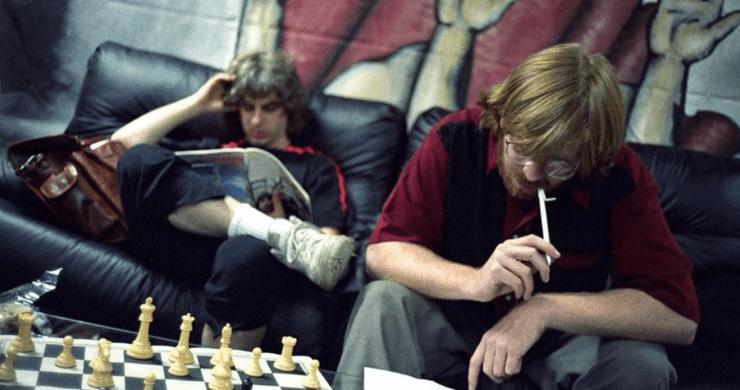 phish chess, phish audience chess, phish chess 1995, phish dinner and a movie, phish 12/31/95, phish dinner and a rematch, phish dinner and a movie chess, phish 12/31/95 stream companion, phish stream companion