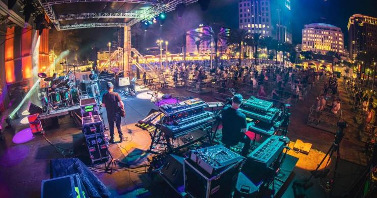 the disco biscuits, disco biscuits king of the world, disco biscuits 3/25/21, disco biscuits orlando, disco biscuits grass is green, disco biscuits king of the world grass is green, jon barber,