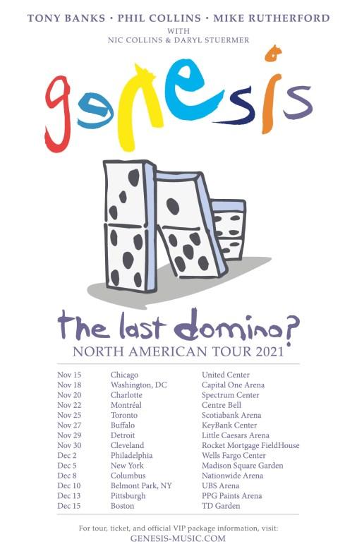 genesis, genesis tour, genesis tour 2021