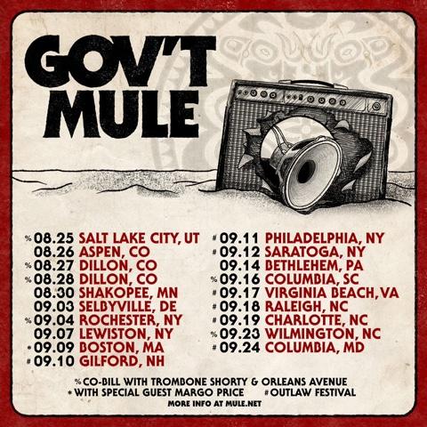 gov't mule, gov't mule tour, gov't mule tour 2021