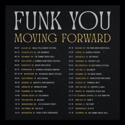 funk you, funk you music, funk you tour