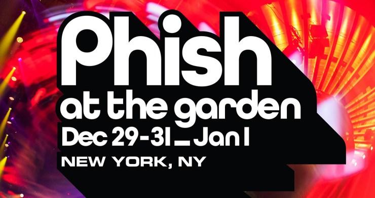 phish msg 2021, phish, phish new year's eve, phish nye, phish nye 2021, phish nye 2022, phish msg, phish 12/29/21, phish 12/30/21, phish 12/31/21, phish 1/1/22, madison square garden, phish msg 2021, phish msg lottery, phish new year's eve lottery, ptbm lottery