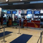 Jet Airways Check-in Counters