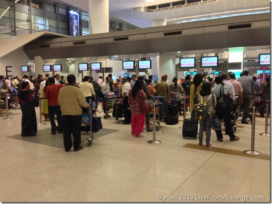 Air India Terminal 3 DEL checkin counters