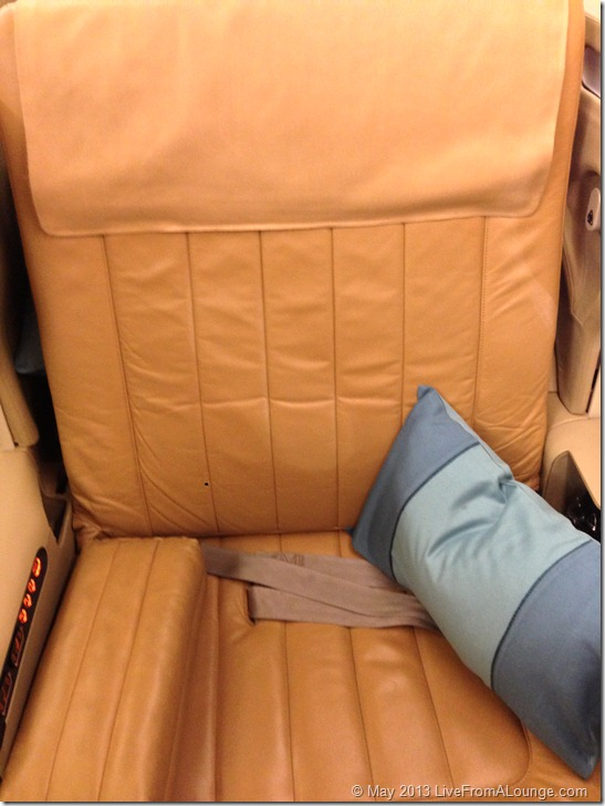 The latest SQ Business Class seat
