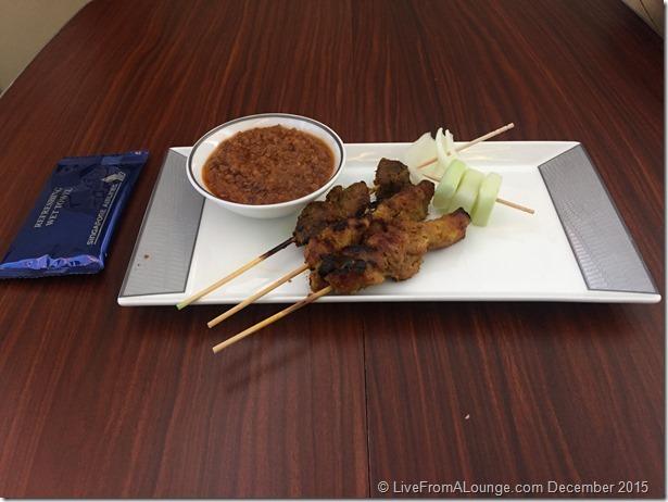 SQ Suites Canape: Chicken & Beef Satay