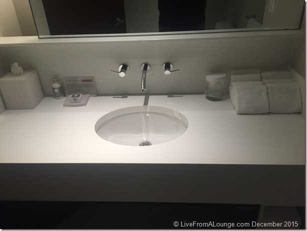 Andaz West Hollywood Penthouse Suite Half Bathroom