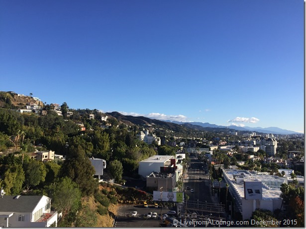 Andaz West Hollywood Penthouse Suite Terrace Views