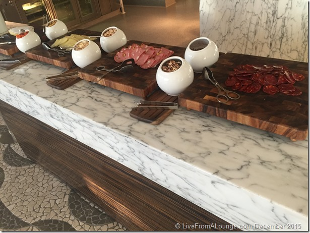 Andaz West Hollywood Riot House Restaurant Breakfast Table
