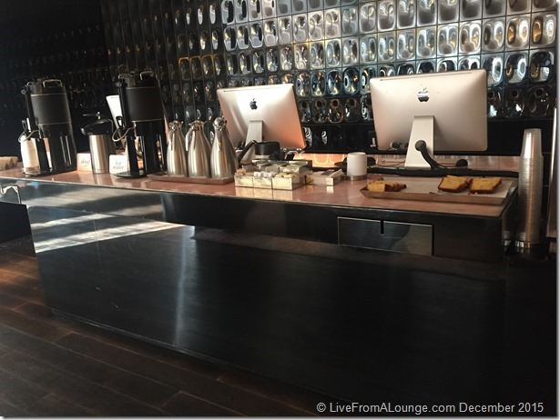 Andaz West Hollywood Lobby Morning Coffee