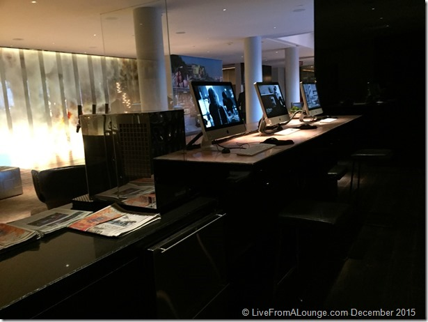 Andaz West Hollywood Lobby Business Centre