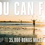 Marriott's You Can Fly offer gets you 35K miles!