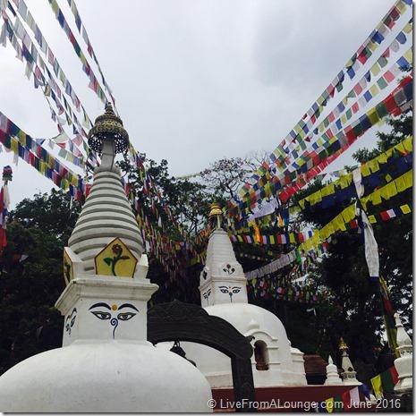 Swaymbhunath, near Kathmandu