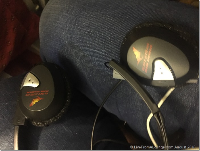 Broken headsets, no less!