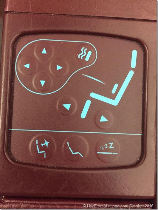 In-seat controls