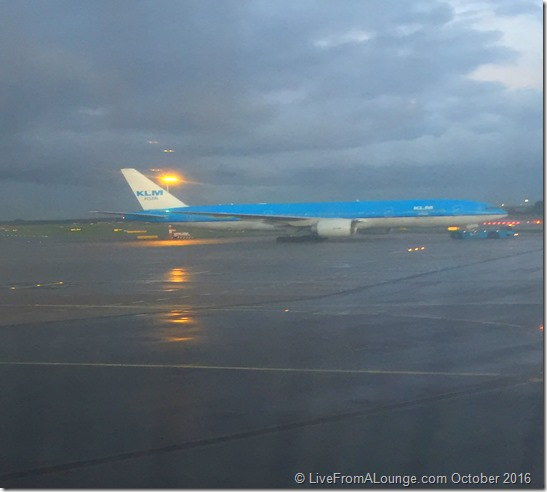 Touchdown AMS with KLM