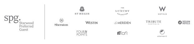 SPG brand Portfolio