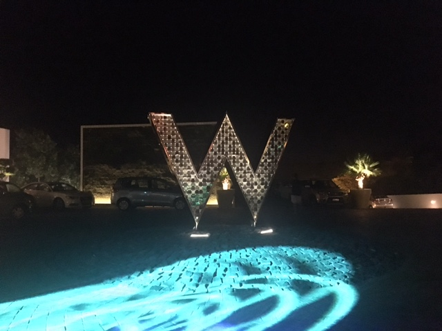 The W at the Entrance
