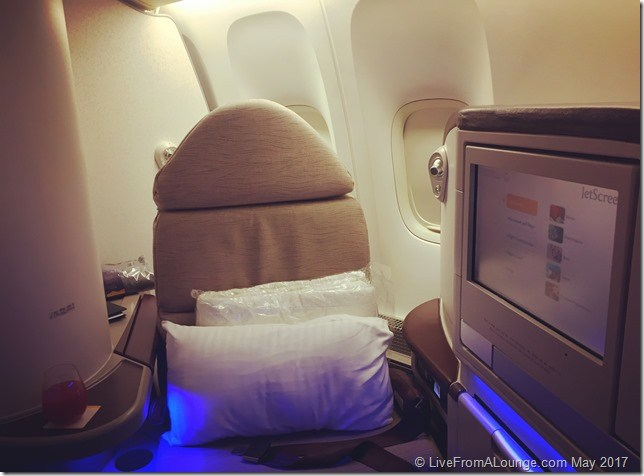 Free Business Class Seat could be yours!