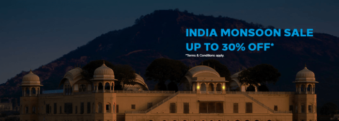 Hilton Monsoon India Sale