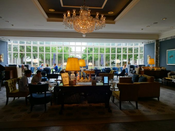Intercontinental Dublin : The Lobby Lounge