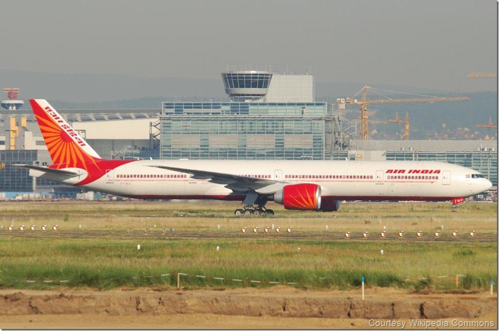 Delhi San Francisco Air India
