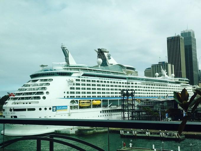 Passenger Cruise Ship Sydney