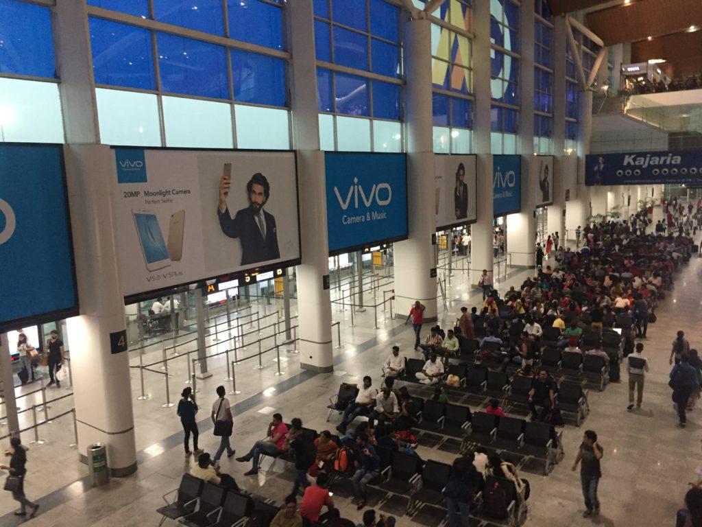 Terminal 1D Departure Gate Rush