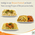 Jet Airways' Biryani Festival