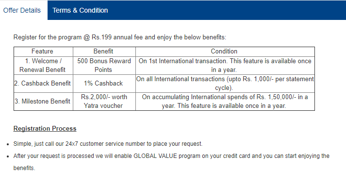 HDFC Bank Global Value