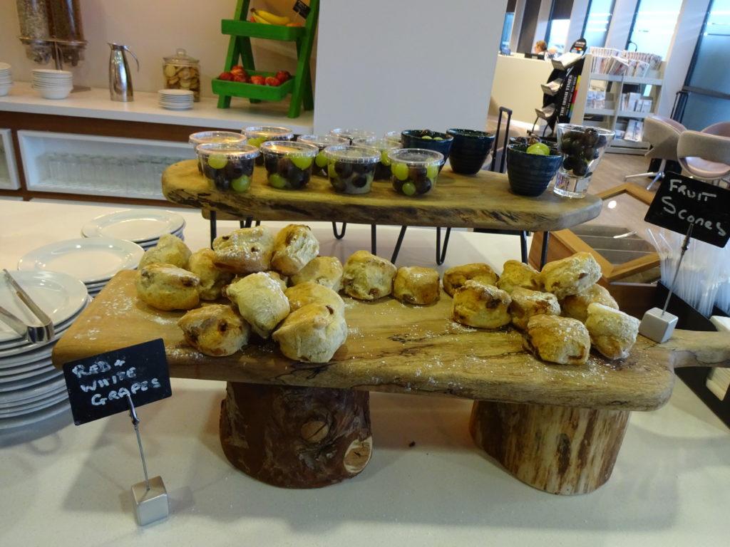 DAA Executive Lounge breakfast