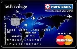 HDFC-Bank-JetPrivilege-Debit-Card