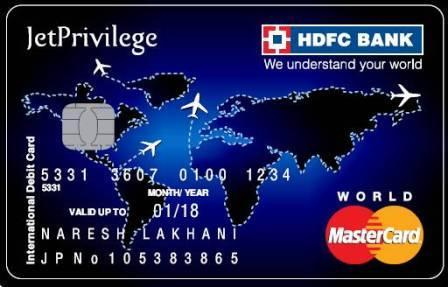 HDFC-Bank-JetPrivilege-Debit-Card