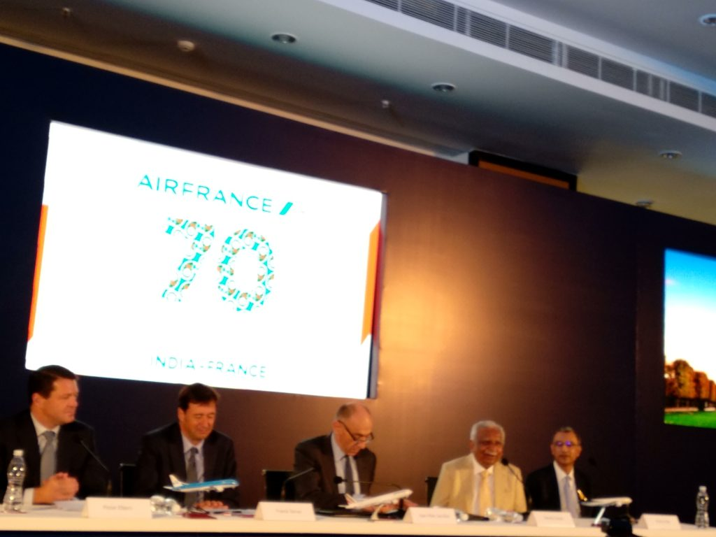 Announcement for Jet Airways cooperation with KLM/Air France