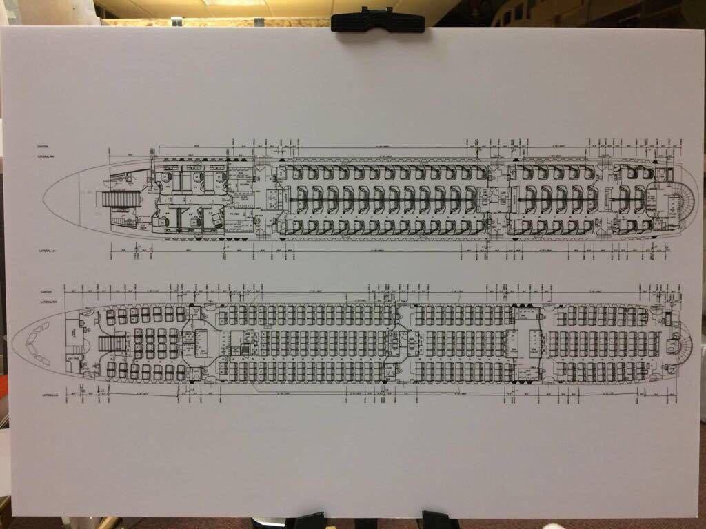 SQ A380 Seatmap