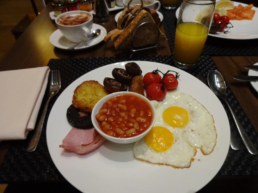 British Airways Concorde Room English Breakfast
