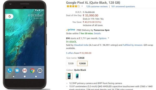 Google Pixel XL (Travel Essentials)