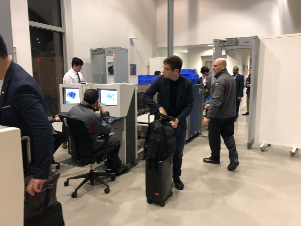 Airbus Delivery Center Security Check