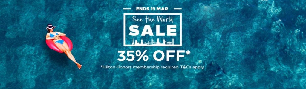 Hilton Flash Sale