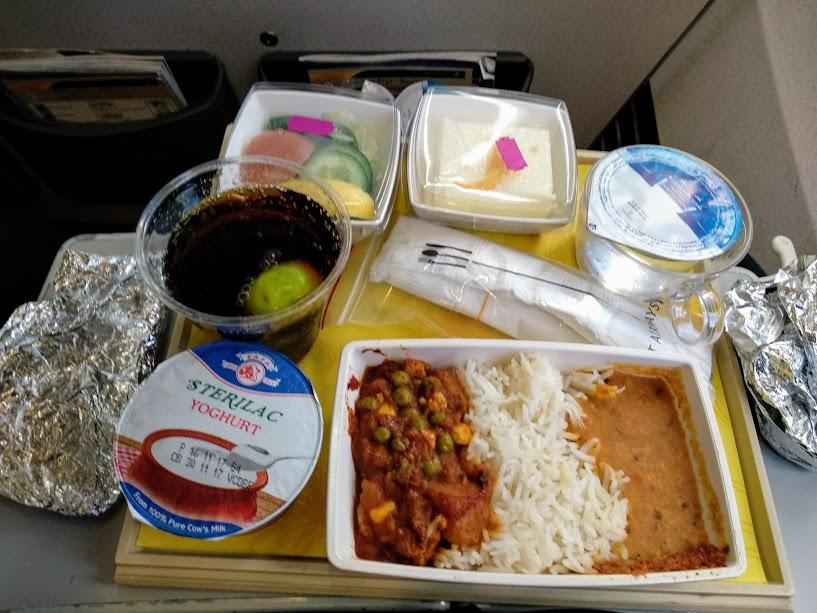 Jet Airways Dubai to Delhi flight review