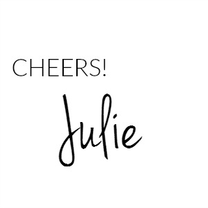 Cheers Julie Signature