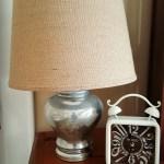Faux Mercury Glass Lamps