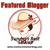 Sunday's Best Blog Party feature