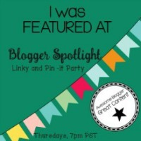Blogger Spotlight blog party feature