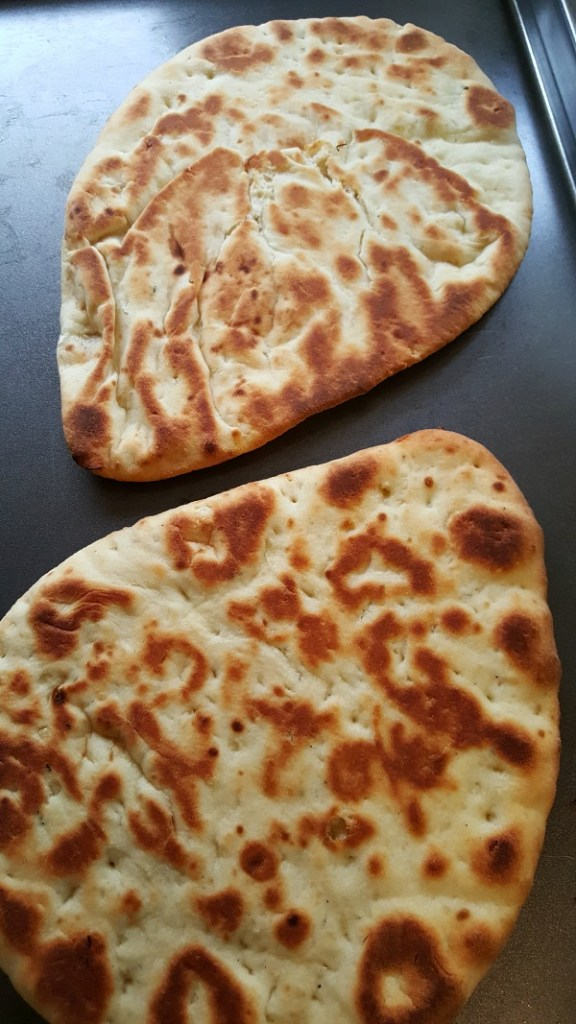2 Naan breads
