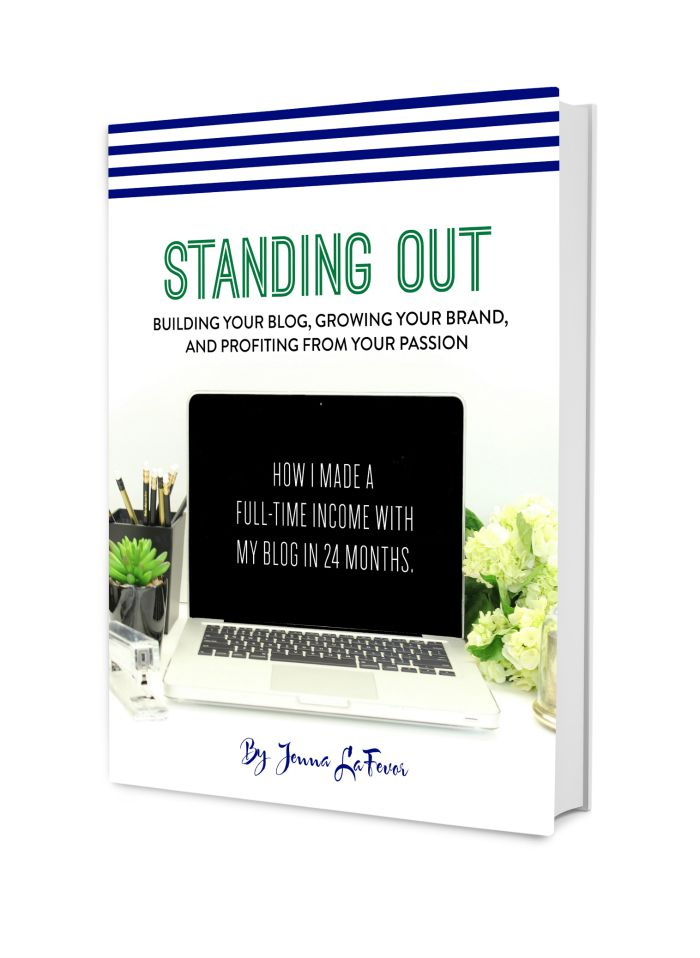 Standing out by Jenna LaFever