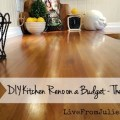 Tiny DIY Budget Cottage kitchen reno