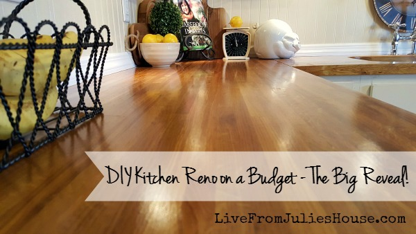 DIY Budget Kitchen Reno – The Big Reveal!