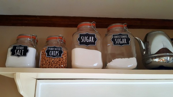 DIY Canister labels